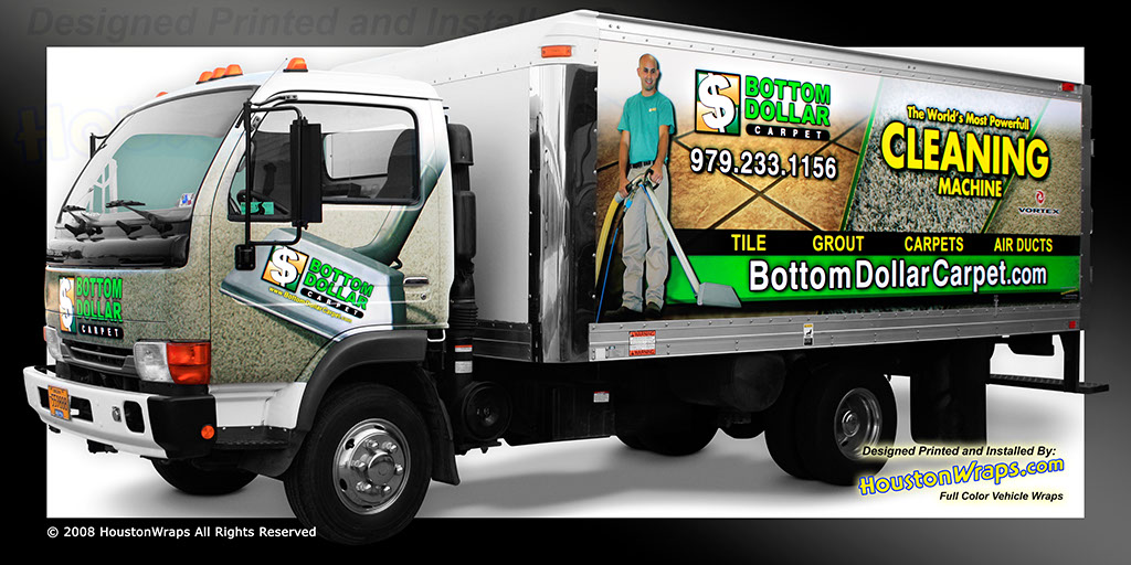 Houston Wraps Vehicle Truck And Car Wrap Advertising