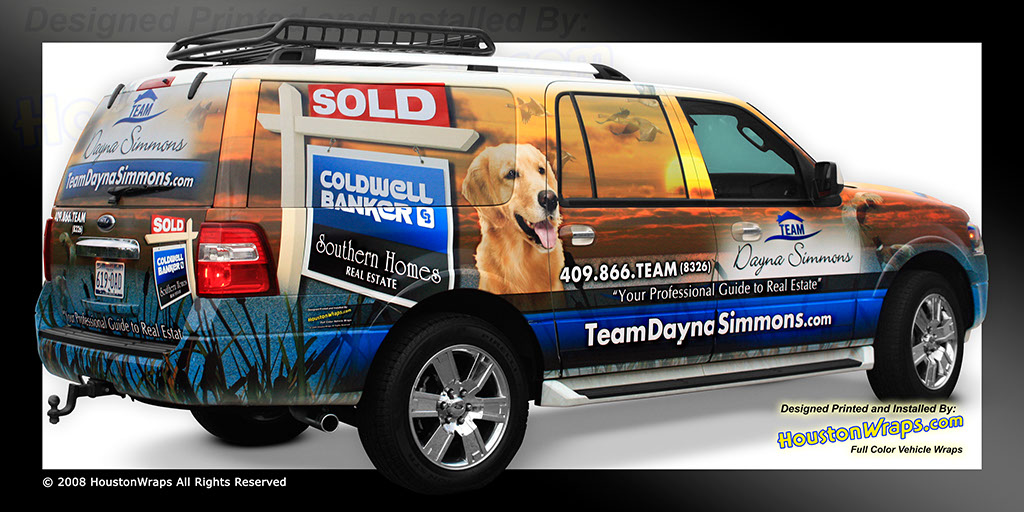 Houston Wraps SUV Wraps Pictures