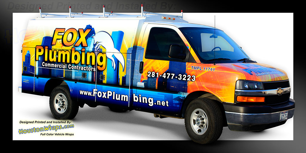 Houston Wraps Van Wraps Pictures 02f6ca740
