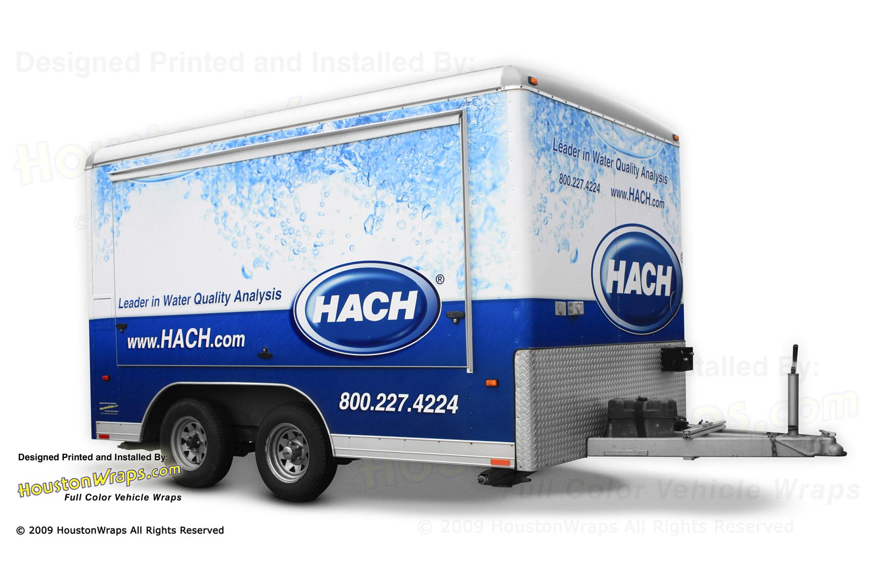 Houston Wraps - HACH - Trailer Wrap